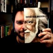 Svend Åge Madsen som bogfjæs